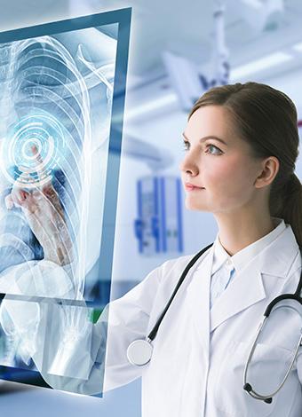 Recepción de la clínica Dr. Ortega